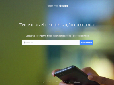 Google Teste Meu Site