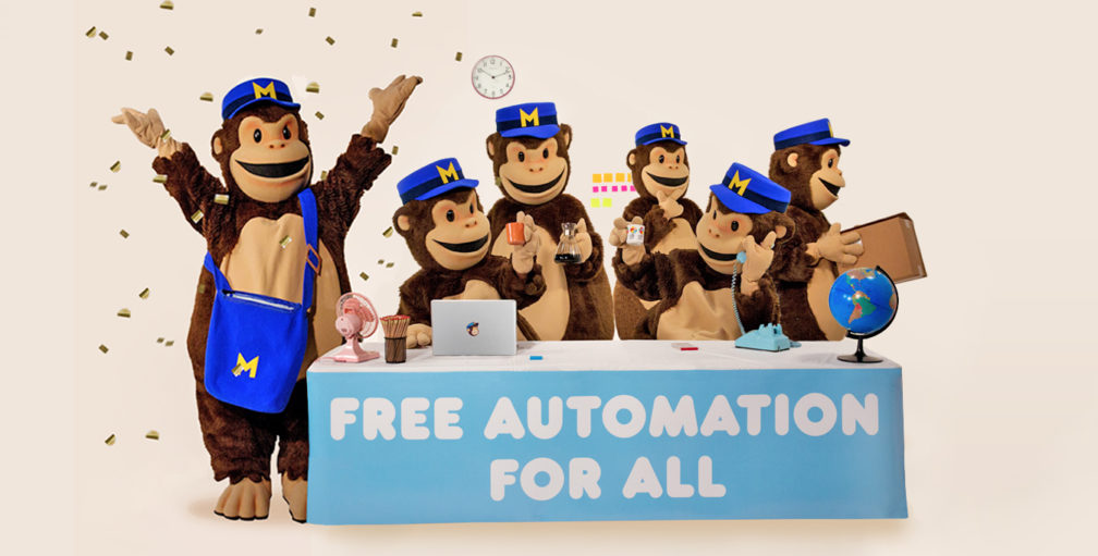 Automação de Marketing MailChimp