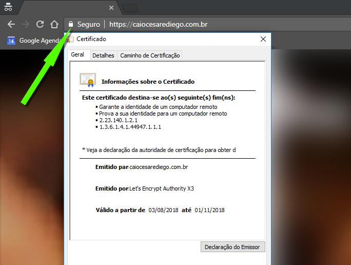TOSS Interativa - Certificado de Segurança SSL